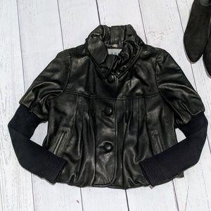 ABS Allen Schwartz Genuine Leather jacket size M